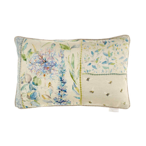 Carneum Patchwork Cushion by Voyage Maison