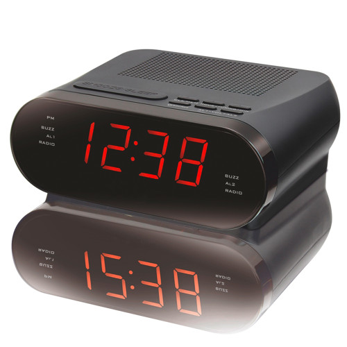TEAC CRX320 Digital Alarm Clock PLL Radio