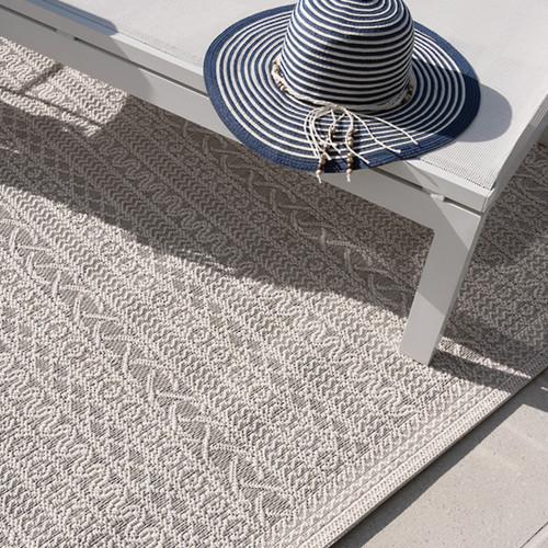 'Voyage' High Tide Floor Rugs by Mulberi
