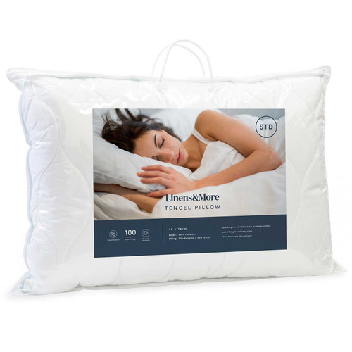 Tencel Blend Pillow by Linens and More