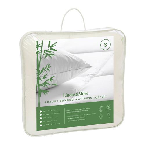 Bamboo Mattress Topper by Linens & More