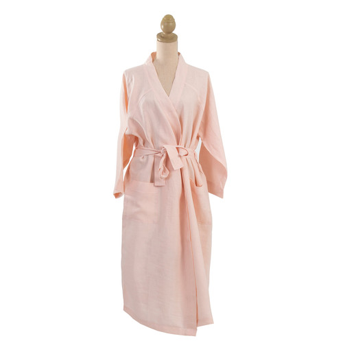 Linen Robe by Linens & More