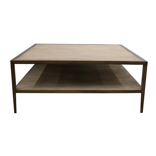 Engineer Square Coffee Table by Le Forge