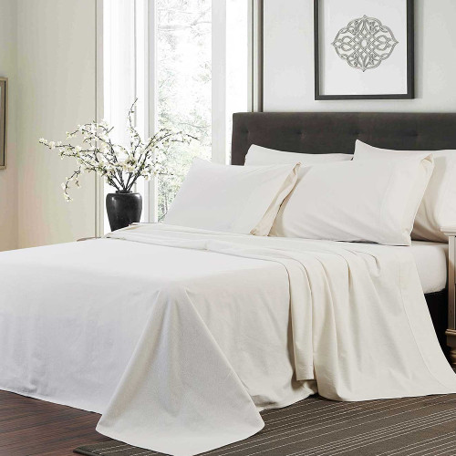 Flannelette Sheet Set by Linens & More