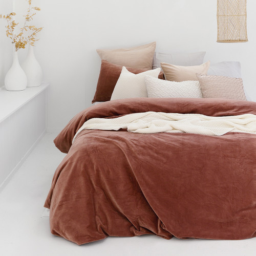 Emerson Quilt Cover Set by Bambury