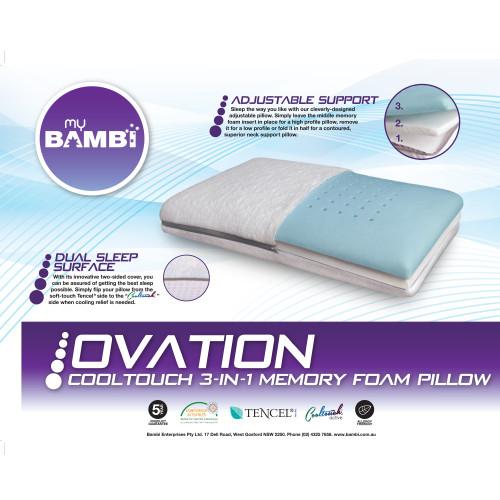 Ovation Memory Foam Pillow by My Bambi