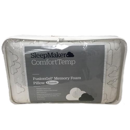 ComfortTemp Fusion Gel Memory Foam Pillow by SleepMaker