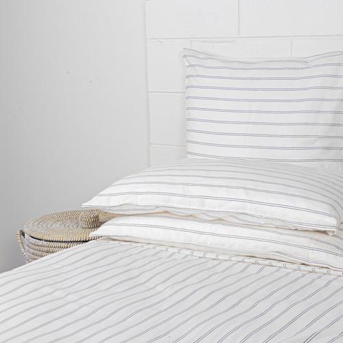 Linen Blend Stripe Sheet Set by Linens & More