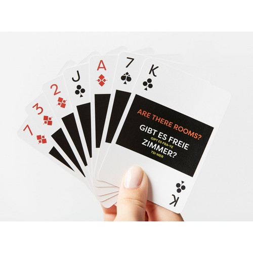 German Lingo Playing Cards by Lingo
