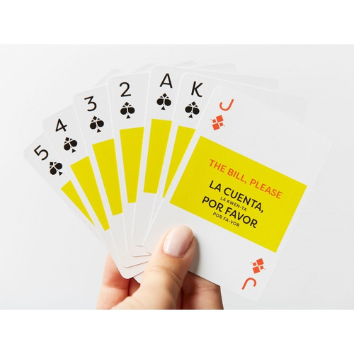 Spanish Lingo Playing Cards by Lingo