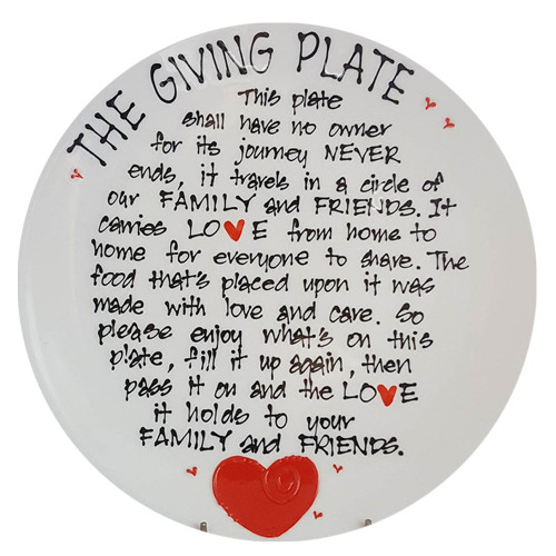 Giving Plate by Splashy