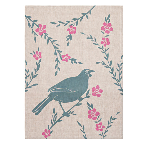 Kokako Tea Towel by Linens & More