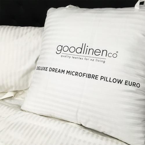 Deluxe Dream Microfibre European Pillow by Good Linen Co®