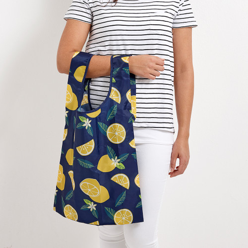 Eco Recycled PET Lemons Shopping Bag by Ladelle