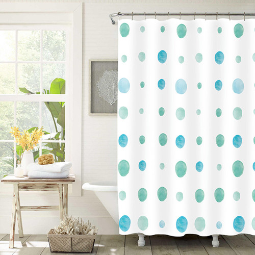 Patterned Polyester Shower Curtains by Marlborough