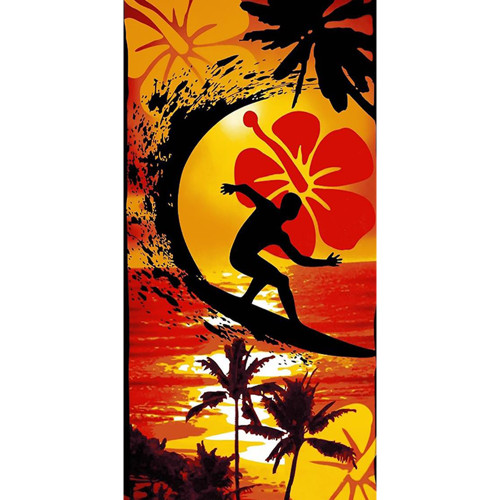 Surfer Beach Towel by Elements