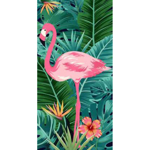 Flamingo Beach Towel by Elements