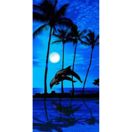 Blue Moon Beach Towel by Elements