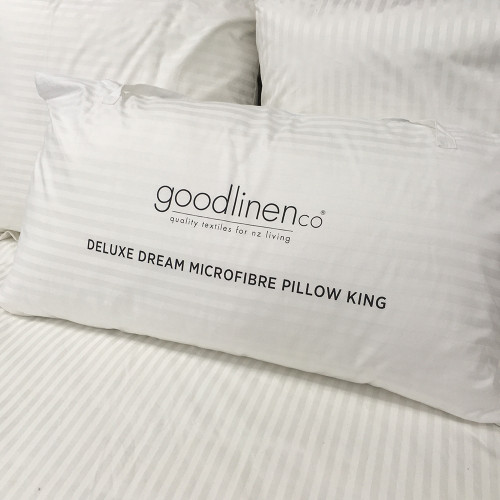 Deluxe Dream Microfibre King / Lodge Pillow by Good Linen Co(R)