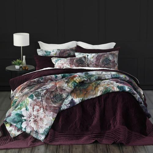 Florentina Port Bedspread Set by MM Linen