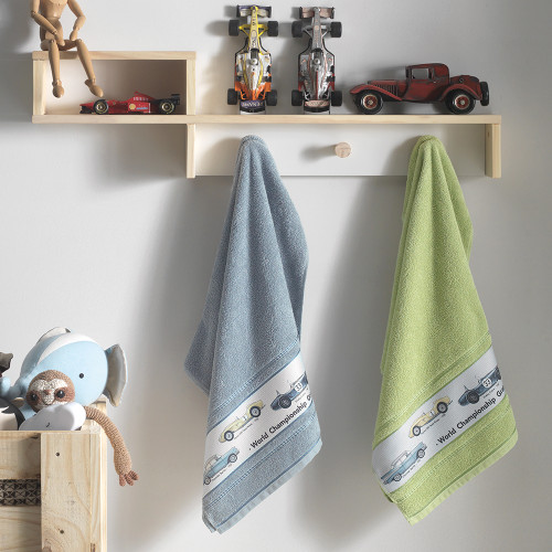 Car Kids Towels by Karsten