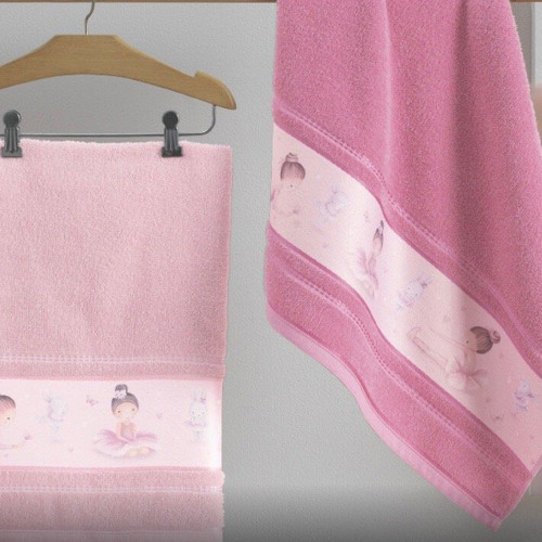 Ballerina Kids Towels by Karsten