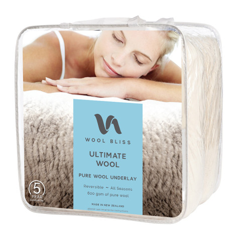 Ultimate Wool Underlay (NZ Made) by Wool Bliss