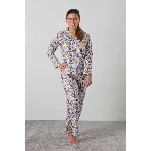 Georgie Classic Pyjama Set by Baksana