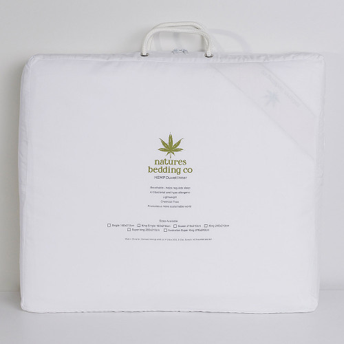 Hemp Duvet Inner 500gsm by Natures Bedding Co