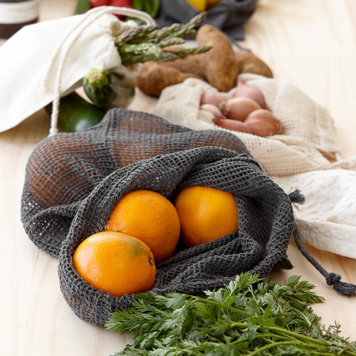 Eco Recycled Mesh Produce Bag Set by Ladelle
