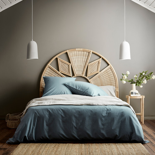 Halo Organic Vintage Duvet Cover by Aura