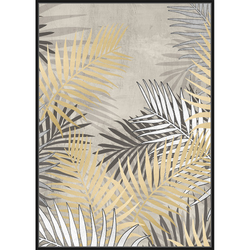 In The Palm Framed Canvas by Linens & More
