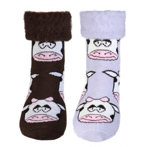 Cow Kiwiana Novelty Socks by Comfort Socks