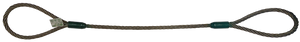 """Wire Rope Sling 6x26, 3/4"""" x 6ft"""