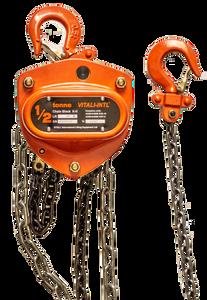 Chain Hoist - Vitali-Intl®, .5 Tonne, 20ft x 1 Fall