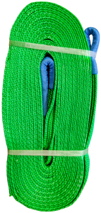 Tow Strap - Green, 2 inch x 30ft, 32,000 LBS
