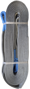 Tow Strap - Grey, 4 inch x 30ft, 64,000 LBS