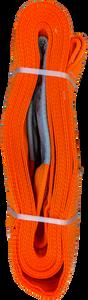 Tow Strap, Orange, 10 inch x 30ft, 160,000 LBS