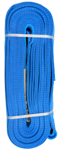 Tow Strap - Blue, 8 inch x 50ft, 128,000 LBS
