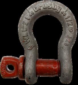 Shackle - Crosby® Screw Pin, 1/2 inch