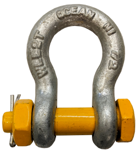 Shackle - Bolt Type, 1/2 inch