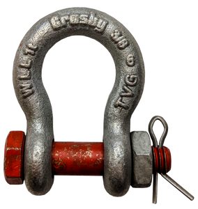 Shackle - Crosby® Bolt Type,  3/8 inch