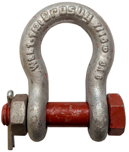 Shackle - Crosby® Bolt Type,  7/16 inch