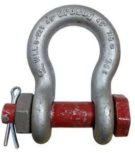 Shackle - Crosby® Bolt Type, 7/8 inch