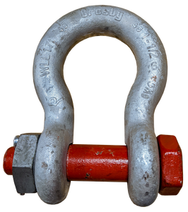 Shackle - Crosby® Bolt Type, 1-1/2 inch