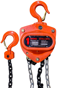 Chain Hoist - Vitali-Intl®, 1 Tonne, 10ft x 1 Fall