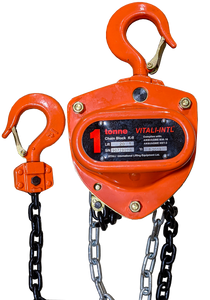 Chain Hoist - Vitali-Intl®, 1 Tonne, 20ft x 1 Fall