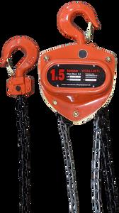 Chain Hoist - Vitali-Intl®, 1.5 Tonne,  15ft x 1 Fall