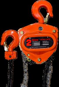 Chain Hoist - Vitali-Intl®, 2 Tonne, 15ft x 1 Fall