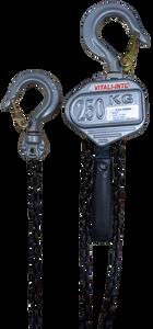 Mini Lever Hoist  - Vitali-Intl®, 0.25 Tonne, 5ft x 1 Fall